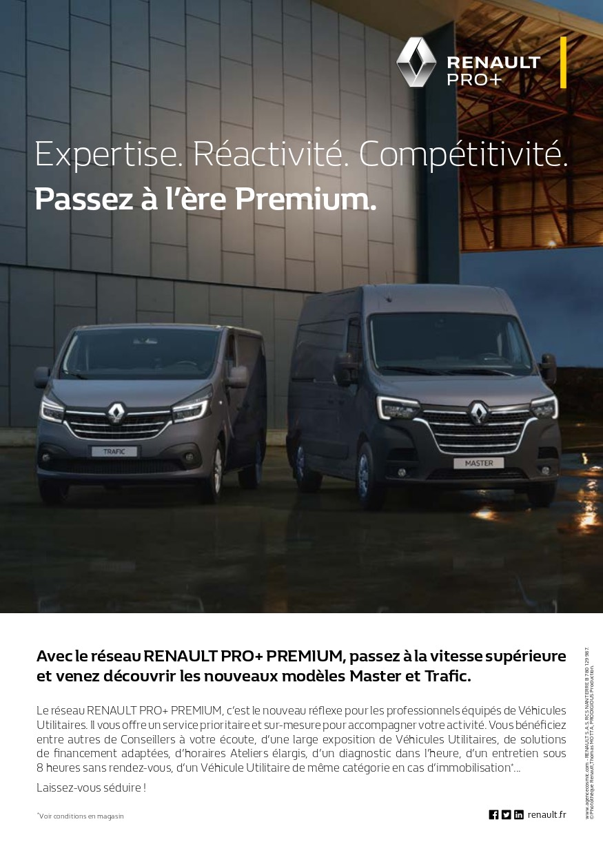 Renault Pro + Passez à l'ère Premium | Garage Daries Conques