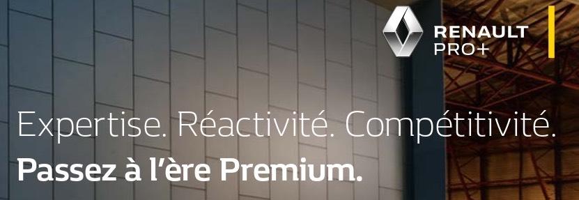 Renault Pro + Passez à l'ère Premium